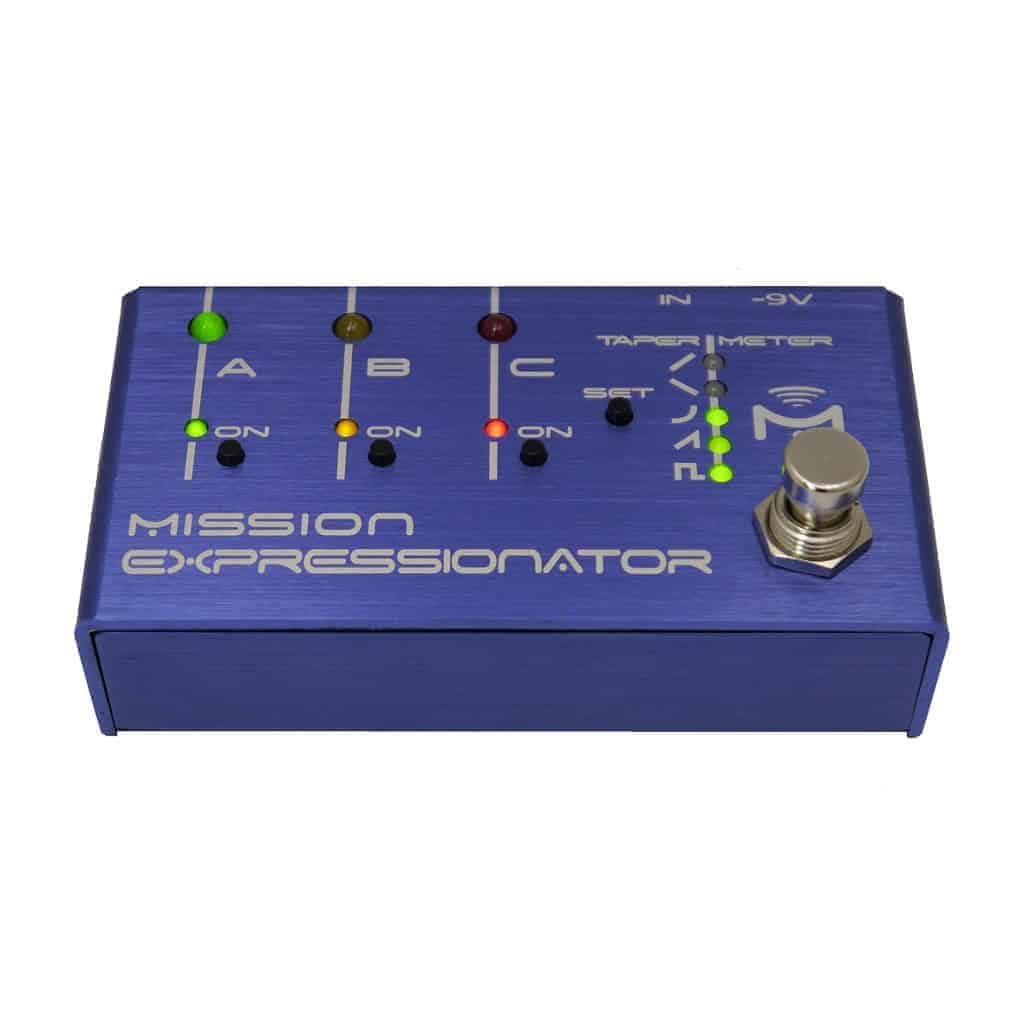 Mission Engineering We Are On A Foot Pedal For Guitar Effects Wiring Diagram Expressionator Multi Expression Control